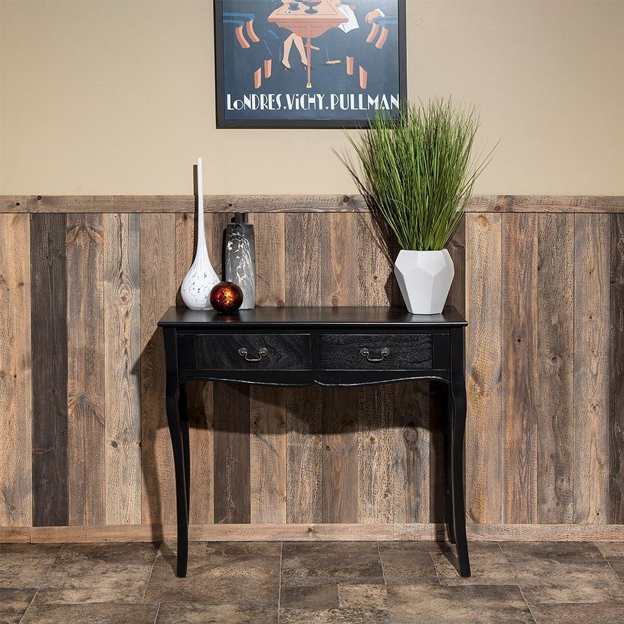 Rustic Grove Wood Planks in Mixed Brown