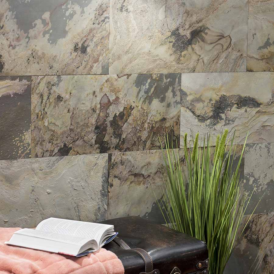 Aspect Stone Tile in Medley Slate