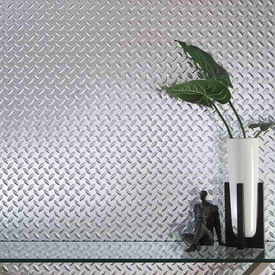 Fasade Wall Panel in Diamond Plate