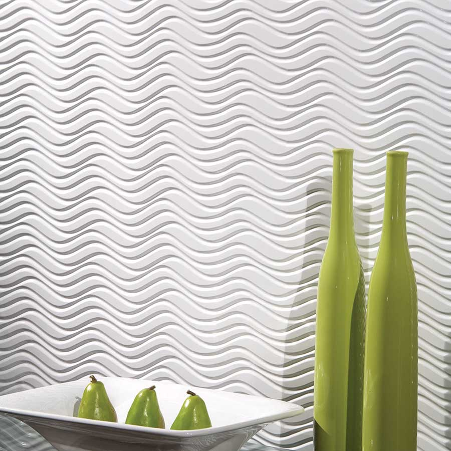 Fasade's Current Wall Panel in Matte White