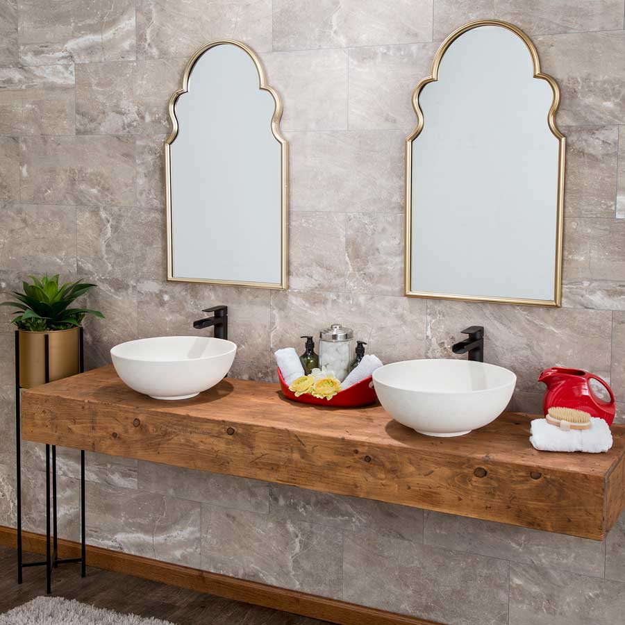 Palisade Wall Tile (Small Profile) in Venetian Marble