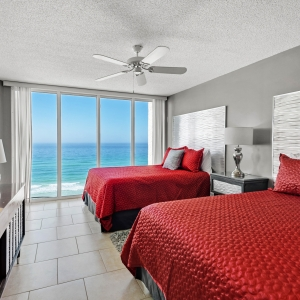 Barefoot Beach Rentals - Fasade's Waves Wall Panel in Brushed Aluminum
