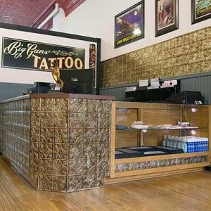 Big Guns Tattoo Parlor - Fasade Traditional 1 in Bermuda Bronze
