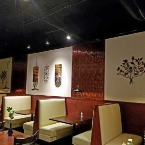Genuwines Vintage Dining - Fasade Dunes (vertical) Wall Panel in Moonstone Copper