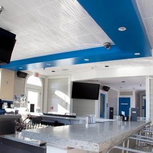 Joe's Crab Shack - Genesis Drifts Ceiling Panels in White