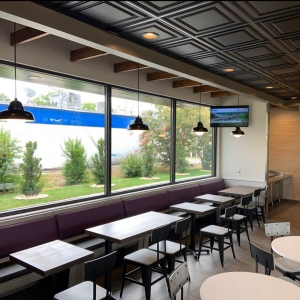 Taco Bell - Genesis Icon Relief Ceiling Panels in Black